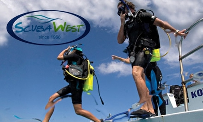 Scuba West - Port Richey: $149 for a Scuba-Diving Certification Course at Scuba West ($330 Value)