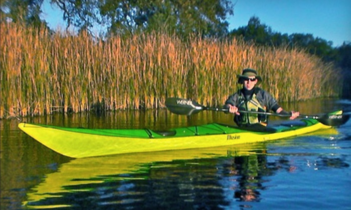 The Headwaters - Lodi: $20 for Full-Day Kayak or Standup-Paddleboard Rental at The Headwaters ($45 Value)