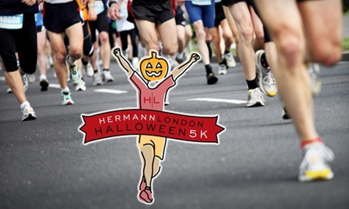 Hermann London Halloween 5K - Maplewood: $15 for One Entry to the Hermann London Halloween 5K on Saturday, October 30 ($30 Value)