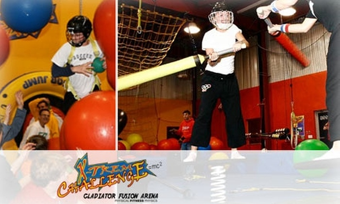 X-Treme Challenge - Multiple Locations: $12 for an X-Treme Challenge Fun Pass ($25 Value)