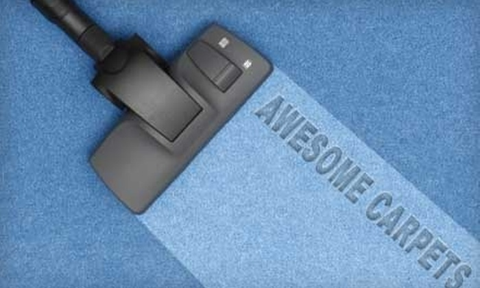 Awesome Carpets - Stockton: $69 for a Three-Room Carpet Cleaning from Awesome Carpets (Up to $210 Value)