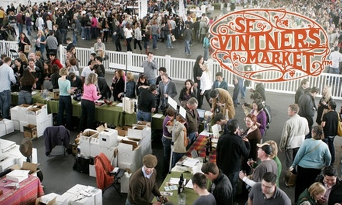 San Francisco Vintners Market - San Francisco: Up to 60% Off Admission to San Francisco Vintners Market. All Tastings Included. Choose from Two Options.