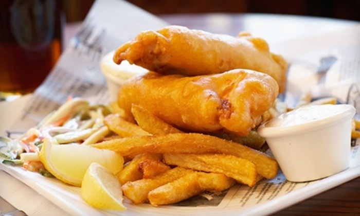 Baker St. Pub & Grill - Austin: $10 for $20 Worth of Traditional Pub Dinner Fare at Baker St. Pub & Grill