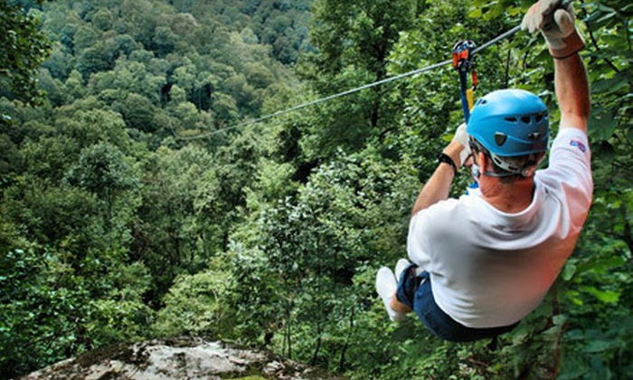 Black Mountain Thunder Zipline - Harlan County: Two-Hour Zipline Tour for One or Two from Black Mountain Thunder Zipline in Evarts (Up to 56% Off)
