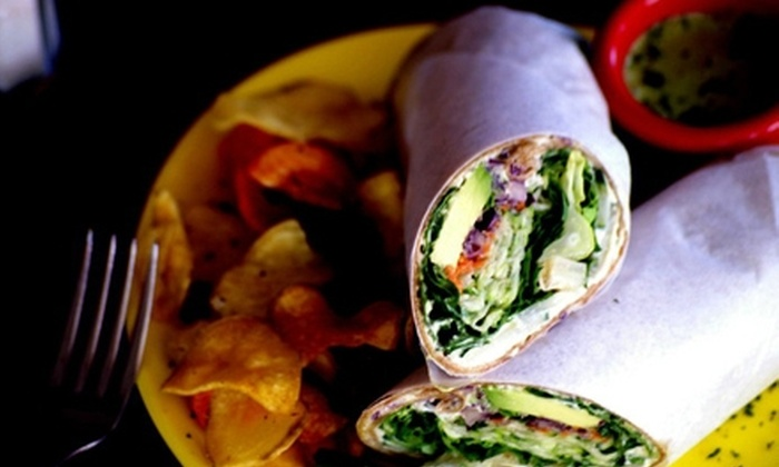 Grass Root Organic Restaurant  - Multiple Locations: $10 for $20 Worth of Vegan and Raw Fare at Grass Root Organic Restaurant