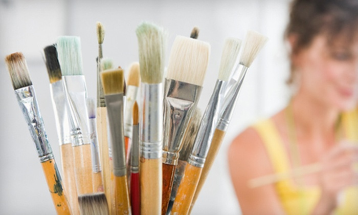 Art 'N Oddities - West Allis: Goblet Painting, Mirror Mosaic, or Drawing Class at Art 'N Oddities (Up to 53% Off)