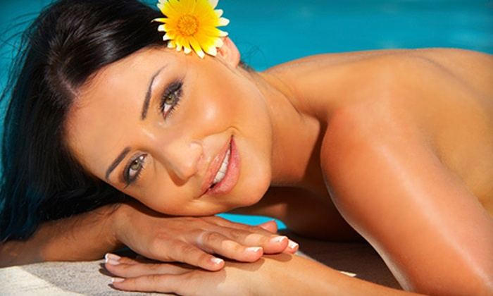 Image Sun - Rochester: One Spray Tanning Session or Five Tans in Choice of Four UV Bed Levels at Image Sun Oakland Township (Up to 61% Off)