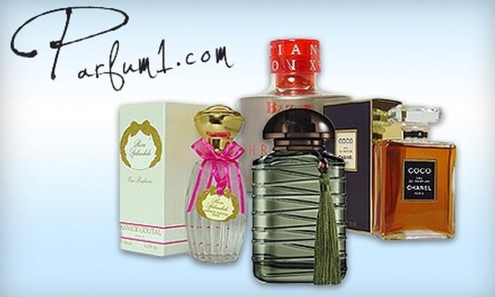 Parfum1.com: $15 for $30 Worth of Perfume, Cologne, and More from Parfum1.com