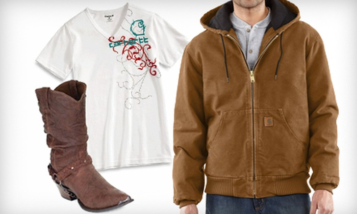 Borders Shoe & Boot Outlet - Elizabethtown: $20 for $40 Worth of Work Boots and Apparel at Borders Shoe & Boot Outlet in Elizabethtown