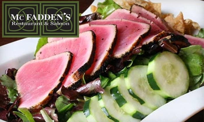 McFaddens Restaurant and Saloon - Downtown Providence: $25 for $50 Worth of Upscale American Fare and Drinks at McFadden's Restaurant & Saloon