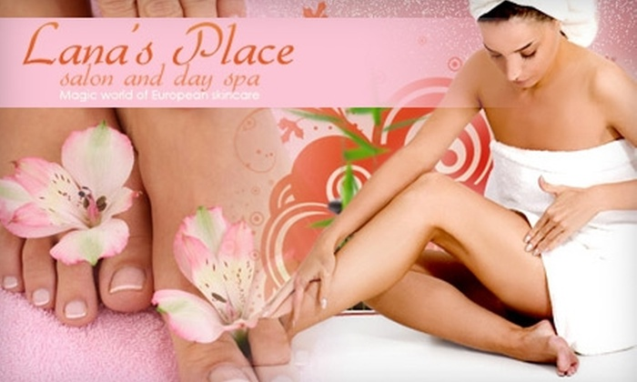 Lana's Place - Cliffside Park: $17 Manicure and Pedicure at Lana's Place ($35 Value)