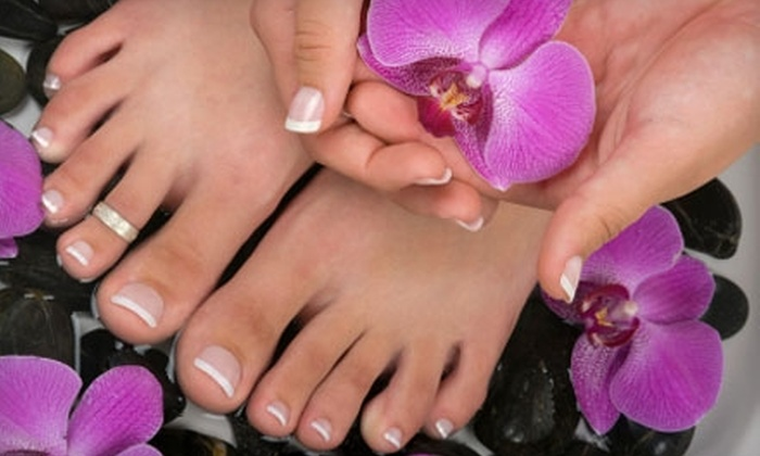 Sculpt Plus - Nixa: $37 for a Spa Mani-Pedi at Sculpt Plus in Nixa ($75 Value)