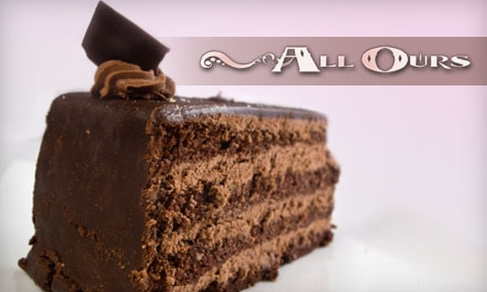 All Ours Catering - Monroe: $40 for a Customized Two-Layer Novelty Cake from All Ours Catering