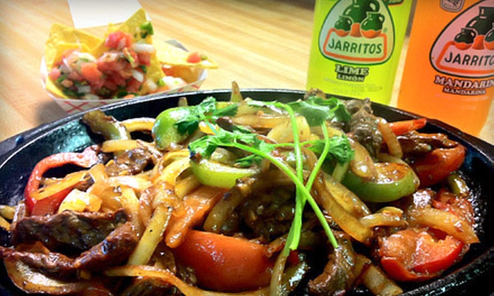 Las Teresita's Mexican Grill - Wenonah: $15 for a Mexican Meal with Platters and Drinks for Two at Las Teresita's Mexican Grill (Up to $31.54 Value)