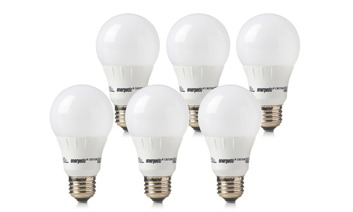 Energetic Lighting Dimmable or Standard LED Bulbs (6-Pack)