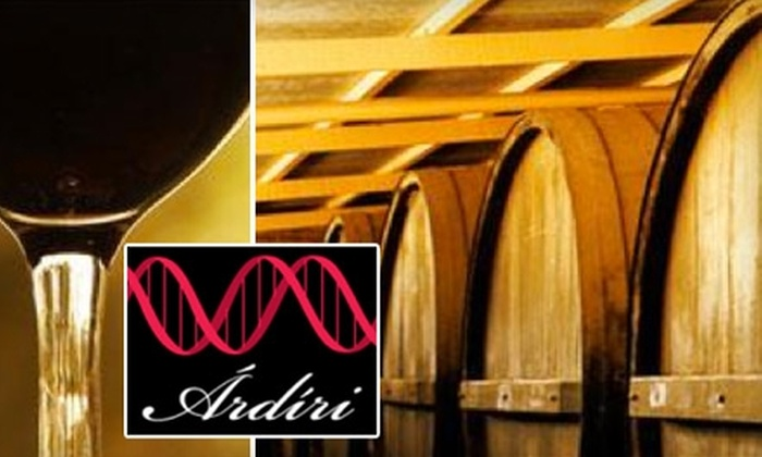 Ardiri Winery and Vineyards - Chehalem Mountain: $10 for a Wine Tasting for Two People and Two Commemorative Wine Glasses at Ardiri Winery and Vineyards