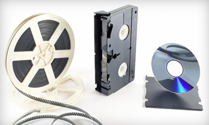 Universal Video Conversions - Schaumburg: 8 mm or 16 mm Film-to-DVD or VHS-to-DVD Transfers from Universal Video Transfers (Up to 60% Off)