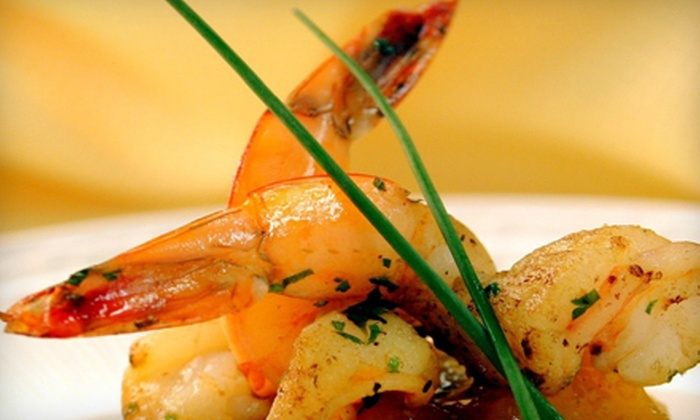 Java Tropico Seafood and Grill - Peachtree City: Dinner and Wine for Two or Four People at Java Tropico Seafood and Grill in Peachtree City