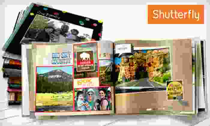 Shutterfly: 8x8 or 8x11 Custom Photo Book from Shutterfly (Up to 67% Off)