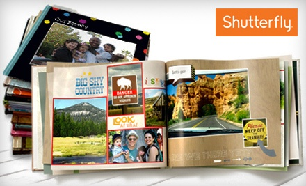 Corpus Christi: 8x8 or 8x11 Custom Photo Book from Shutterfly (Up to 67% Off)