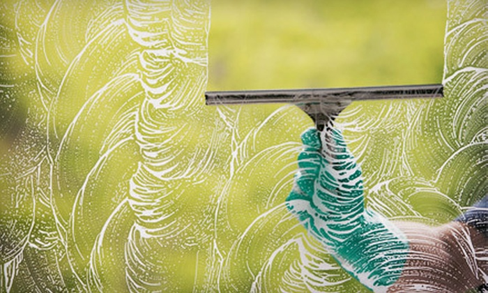 All Pro Window Cleaning - Brooklyn Acres: Cleaning of Up to 15 Windows or 100 Feet of Gutter Cleaning from All Pro Window Cleaning (Up to 55% Off)