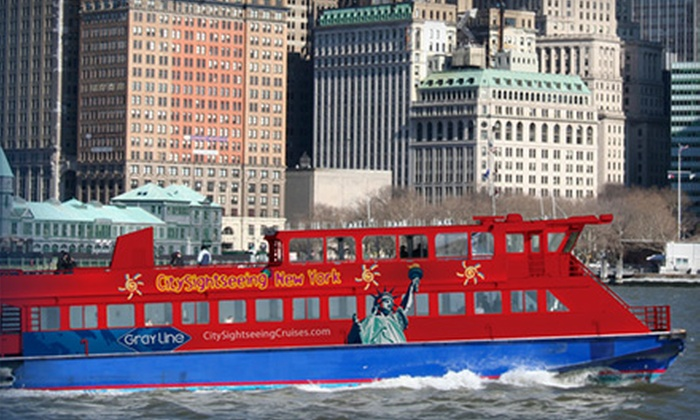 CitySightseeing Cruises - Financial District: $9 for One Ticket to a 60-Minute Harbor Cruise from CitySightseeing Cruises ($18 Value)
