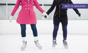 The Pond at Southlands-Ice Rink: Ice Skating and Skate Rental at The Pond at Southlands-Ice Rink (Up to 41% Off). Four Options Available.