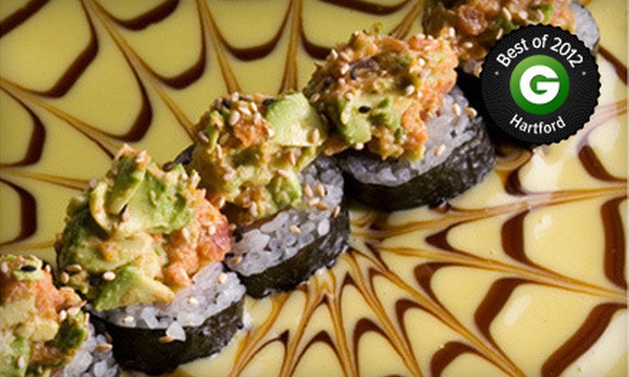 Sakimura - Simsbury Center: Japanese Food and Sushi for Dinner for Two or Four at Sakimura (Half Off)