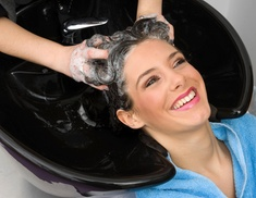 Bellagio Salon: Haircut, Deep Conditioning Treatment, and Style from Bellagio Salon  (55% Off)