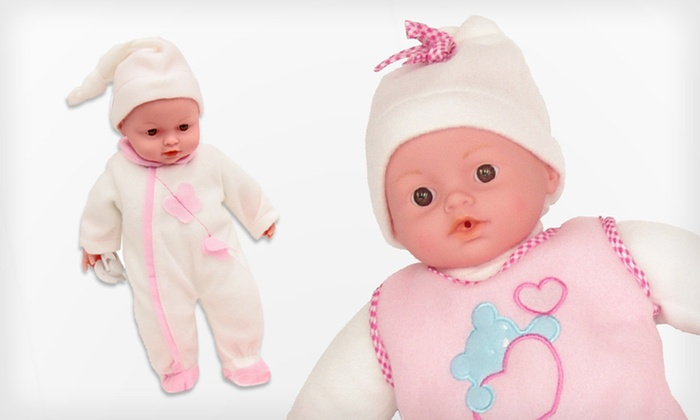 Baby Air Lunch Time or Bath Time Doll: $15 for a Baby Air Lunch Time or Bath Time Doll with Accessories ($19.99 List Price). Free Shipping and Free Returns.