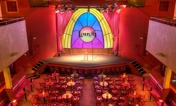 Laugh Factory - Laugh Factory - Chicago: Comedy Show with Optional Priority Seating at Laugh Factory (Up to 43% Off)