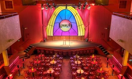 Comedy Show with Optional Priority Seating at Laugh Factory (Up to 43% Off)