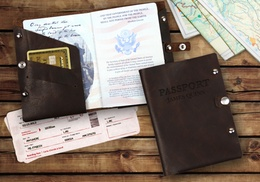 Up to 75% Off Custom Passport Holders from Monogram Online