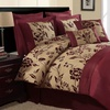 Aurora 8-Piece Flocked Comforter Set