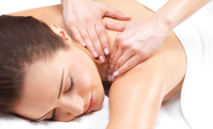 Couples Massage Package or Choice of Single Massage, Facial, or Pedicure at A New Day Spa (Up to 58% Off)