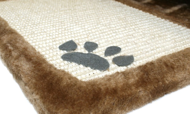 Furry Cat Scratch Mat