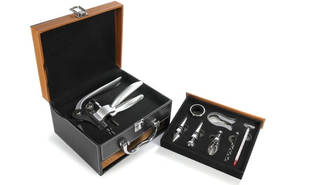 Carteret Collection 8-Piece Wine-Essentials Gift Set