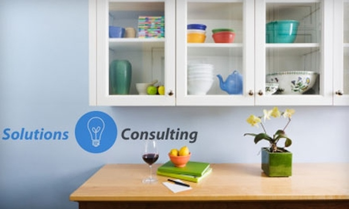 Solutions Consulting - North Bethesda: $73 for Three Hours of Professional Home-Organization Services from Solutions Consulting ($285 Value)