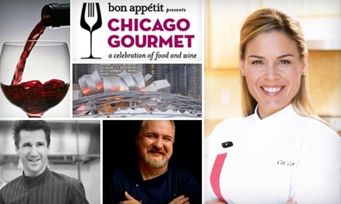 Chicago Gourmet - Loop: $89 Ticket to Chicago Gourmet on Sunday, September 26 in Millennium Park