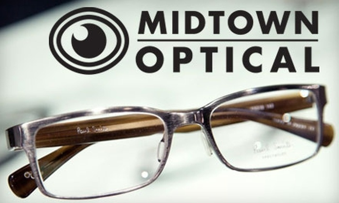 Midtown Optical - Downtown Oklahoma City: $50 for Eye Exam and $150 Credit Toward Complete Pair of Eyeglasses at Midtown Optical ($240 Value)