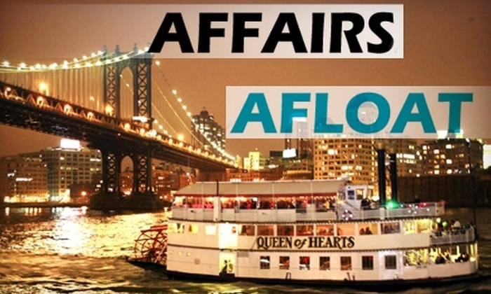 Affairs Afloat - Clinton: $80 for One Eros VIP Admission Ticket to a Valentine's Day Cocktail Cruise on February 12 from Affairs Afloat