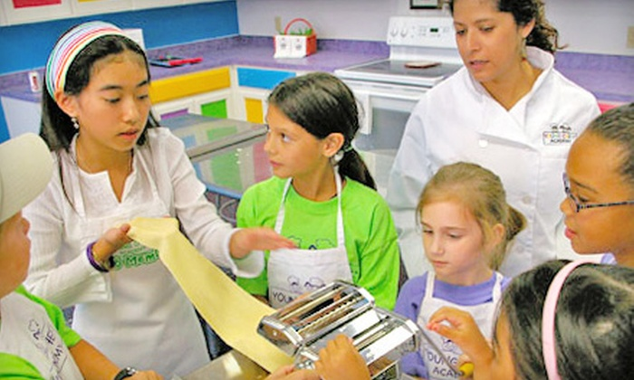 Young Chef's Academy - Multiple Locations: $27 for Two Kids' Cooking Classes at Young Chefs Academy (Up to $60 Value)