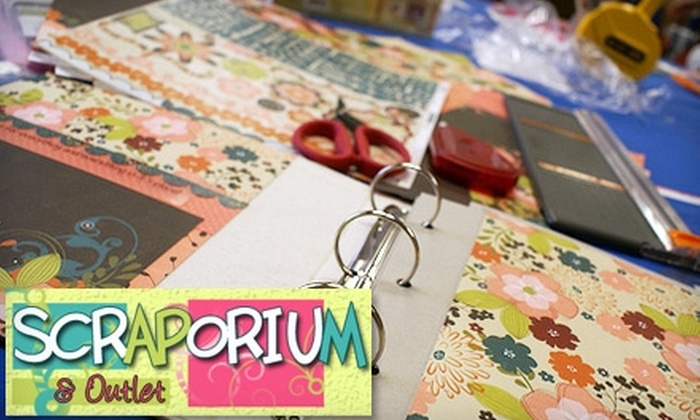 Scraporium & Outlet - Tampa: $12 for $25 Worth of Merchandise at Scraporium & Outlet