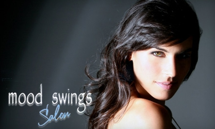 Mood Swings Salon - Downtown Tempe: $25 for a Haircut, Scalp Massage, Shampoo, and Blow-Dry at Mood Swings Salon ($50 Value)
