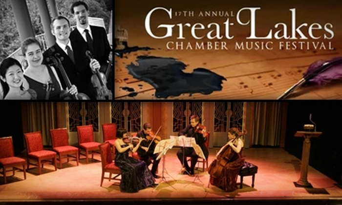 Great Lakes Chamber Music Festival - Franklin: $17 Admission to Great Lakes Chamber Music Festival on Saturday, June 12, at 8 p.m. ($35 Value)
