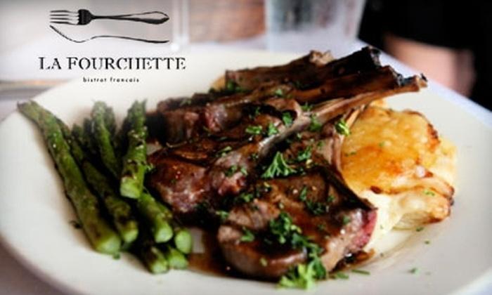 La Fourchette - Mazyck - Wraggborough: $15 for $30 of Authentic French Cuisine at La Fourchette
