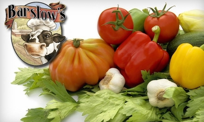 Barstow's Longview Farm - Hadley: $7 for $15 Worth of Local Grocery and Bakery Goods at Barstow's Longview Farm in Hadley