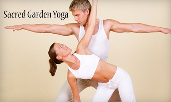 Sacred Garden Yoga - Marietta: $35 for One Month of Unlimited Classes at Sacred Garden Yoga in Marietta