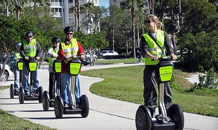 Pleasure Florida Segway Tours - Park East: $32 for a 90-Minute Segway Tour from Pleasure Florida Segway Tours in Sarasota ($65 Value)