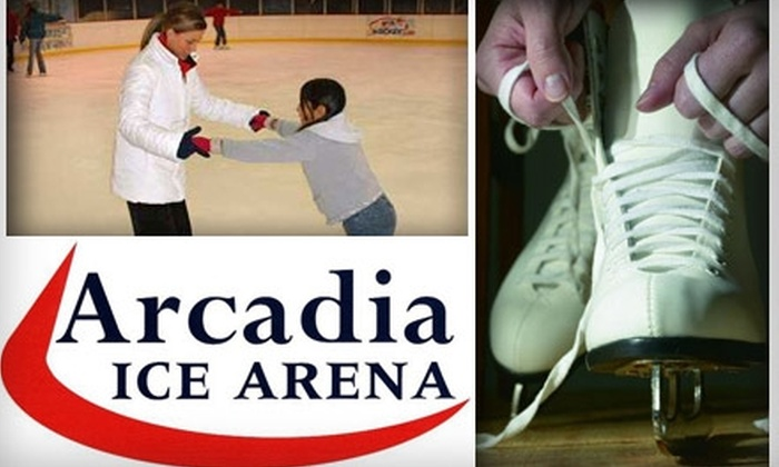 Arcadia Ice Arena - Camelback East: $49 for Beginner Ice-Skating Lessons Plus Gear Rental and Public Skating Admission at Arcadia Ice Arena